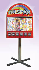 Used Sticker Vending Machine