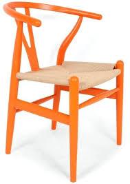 larger more photos orange plastic chair chairs uk wishbone