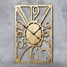 wonderful oblong wall clock  rectangular wall clock india