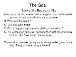the goal the goal