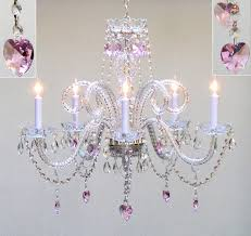 outstanding ceiling fan with chandelier for girl room lighting awesome girls