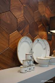 wall tiles kitchen trend alternative uses for wood in the kitchen see more http www