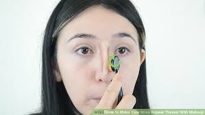 image led make your nose appear thinner with makeup step 4