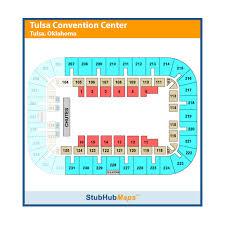 Cox Business Center Ballroom Seating Chart Cox Business Center Tulsa Event Venue Information Get