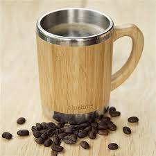 china non slip stainless steel innner wooden coffee cup with lid china cup with lid coffee cup