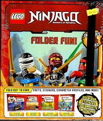 Ninjago Folder Fun - Crane Book Fairs