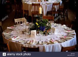 Wedding Reception Table Layout Wedding Reception Table Layout Stock Photo 30049155 Alamy