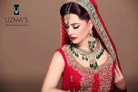 bridal makeup with red dress dailymotion exotic bridal makeup for barat asian clothing