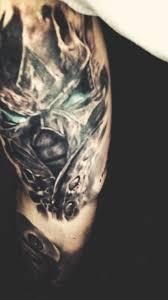 My Arthas Tattoo Hope You Guys Like It Wow