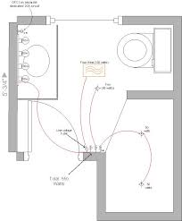 wiring diagram for bathroom wiring diagram structure