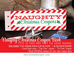 Ideas For Boyfriend Coupons Christmas Naughty Coupon Book Sexy Christmas Gifts For Him Her
