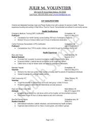 Sample Volunteer Recruiter Resume Peace Corps UVA Career Center 10