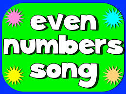 Even Number Song - YouTube