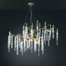 oval chandeliers