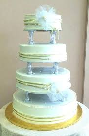 large cake stand fancy wedding glass pedestal square tiered size of stands white extra uk
