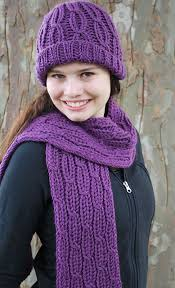 Loom Hat Patterns Cool Ravelry Loom Knit Cabled Hat And Scarf Pattern By Faith Schmidt