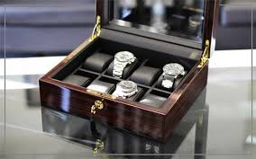 Standing Watch Display Case Watch Boxes Watch Cases Men's Watch Boxes Cases WatchBoxCo 77