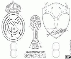 Kleurplaat Fifa 18 Cristiano Ronaldo Real Madrid Coloring Soccer