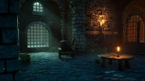 Dungeon Lighting Gaby Soto Lighting Study Dungeon