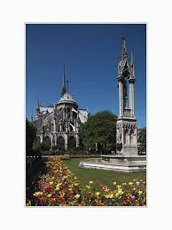 france paris the back garden and the