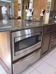 Microwave In Kitchen Cabinet Blog Kitchens By Diane Rockford Il Loves Park Il