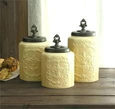 canister jars kitchen canister sets rustic set and jars canisters new canister jars