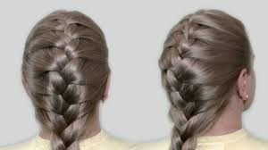 Hairstyle Yourself classic french braid by yourself tutorial hairstyles for medium 7018 by stevesalt.us
