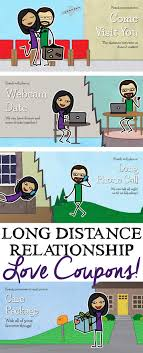 Relationship Coupon Book Long Distance Relationship Love Coupons Loving From A Distance