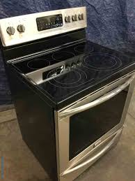 stainless frigidaire gallery range glass top stove convection oven