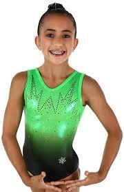 Snowflake Designs Edgy Gymnastics Tank Leotard