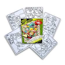 Crayola Art With Edge Nickelodeon 90s Premium Coloring Pages