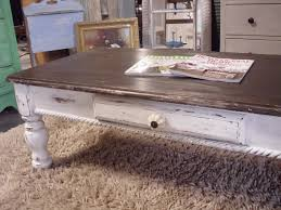 white distressed square coffee table jonathan steele