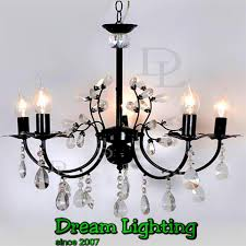 dream lighting candle crystal chandelier pendant lights