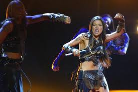 ukraine s ruslana performs wild s and wins the 2004 eurovision in turkey