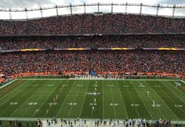 Denver Invesco Field Seating Chart Denver Broncos Seating Guide Empower Field At Mile High