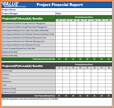 8 Financial Reporting Package Templates Progress Report