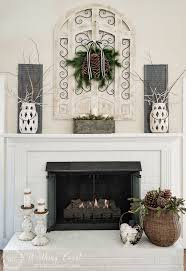 38 Christmas Mantel Decorations  Ideas For Holiday Fireplace Decorating Ideas For Fireplace Mantel