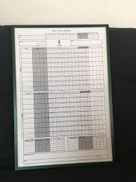 Strat O Matic Super Advanced Fielding Chart This Is An Enlarged Strat O Matic Baseball Score Sheet That