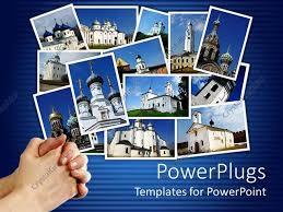 photo collage template powerpoint powerpoint template collage of ancient orthodox churches on display