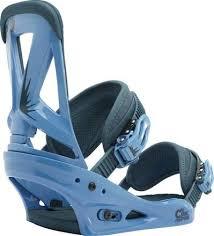 Burton Custom Blue Demin Snowboard Binding