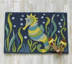 under the sea accent rug