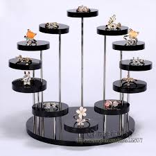 Gem Display Stands Fashion Multi Layer Acrylic Ring Display Rack Earring Holder 40