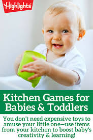 Kitchen Games for Babies and Toddlers   Activities for little ones ...