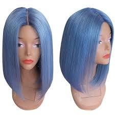 <b>Center Parting</b> Straight <b>Medium</b> Bob <b>Synthetic</b> Wig | <b>Synthetic</b> wigs ...