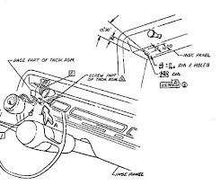 67 kneeknocker tach installation chevelle tech 66 Chevelle Tach Wiring Diagram Schematic click image for larger version name 67 chevelle tach location jpg views 4280 67 Chevelle Wiring Diagram