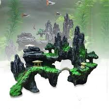 Mario Brothers Aquarium Decorations Popular Mountain View Buy Cheap Mountain View Lots From China
