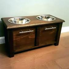 pet bowl stands elevated dog bowls dog bowl holders custom dog bowl stand w storage by