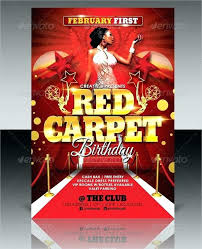 Red Carpet Invitation Templates Download Or Unique Red Carpet Party ...