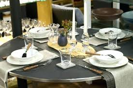placemats for round table for round tables weekly table setting concrete and carbon round table settings placemats for round table