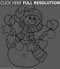 Small Picture Snowman Christmas Coloring Pages For Kids Snowman Kids adult